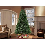Puleo International 9' Pre-Lit Noble Fir Christmas Tree