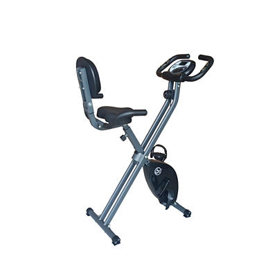 Foldable Exercise Bike with Backrest
