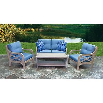 Berkley Jensen Villa 4-Pc. Deep Seating Set