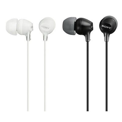 Sony In-Ear Smart Headphones, 2 pk. - Black and White