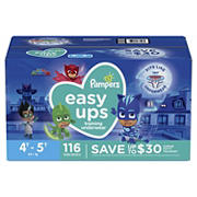 Pampers Easy Ups Training Underwear for Boys, Size 4T-5T, 116 ct.