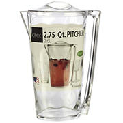Creative Ware 2.75-Qt. Acrylic Ice Block Pitcher & Cover