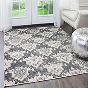 "Home Dynamix Lancaster 7'10""  x  10'2"" Area Rug - Light Beige-Gray"