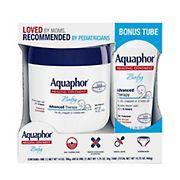 Aquaphor Advanced Therapy Baby Healing Ointment with Bonus, 15.75 oz.