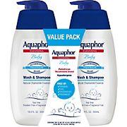 Aquaphor Baby Wash & Shampoo Value Pack, 2 pk. /16.9 fl. oz.