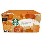 Starbucks Pumpkin Spice K-Cup Pods, 60 ct.