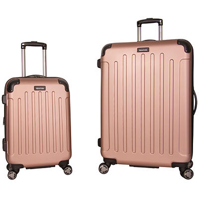 "Kenneth Cole Reaction 20"" and 28"" Hardside Set - Rose Gold"