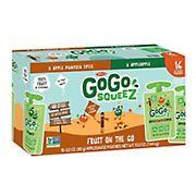 GoGo Squeez Applesauce Pouches, 16 ct./3.2 oz.