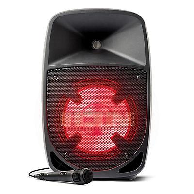 "ION Audio ProGlow 10"" PA Bi-Amplified Bluetooth Speaker System"