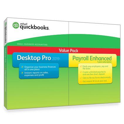 quickbooks pro plus 2019 features