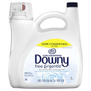 Downy Free and Gentle Ultra Concentrated Liquid Fabric Conditioner, 138 oz.