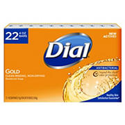 Dial Gold Antibacterial Bar Soap, 22 ct./4 oz.