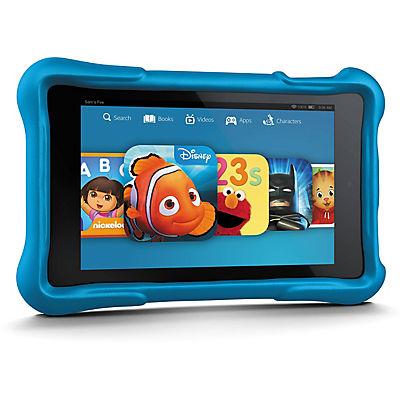 "Amazon Fire 7"" Kids Tablet, 16GB Memory - Blue"