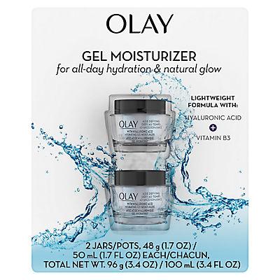 Olay Age Defying Hydrating Gel Moisturizer, 2 pk./1.7 oz.