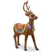 "National Tree Company 49"" Pre-lit Standing Reindeer"