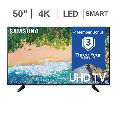 "Samsung UN50NU6950 50"" 4K UHD Smart LED TV"