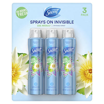 Secret Invisible Cool Waterlily Antiperspirant and Deodorant for Women