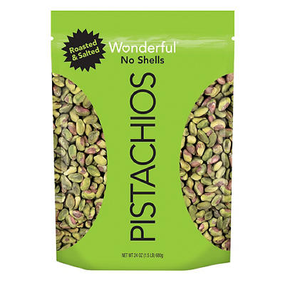 Wonderful Shelled Pistachios, 24 oz.