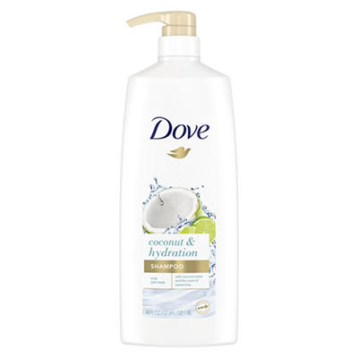 Dove Nourishing Rituals Coconut & Hydration Shampoo, 40 oz.