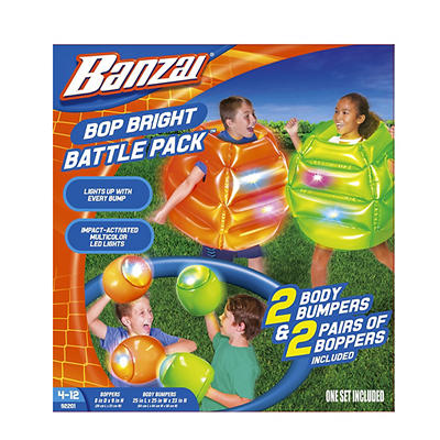 Banzai Bop Bright Body Bumpers Battle Pack