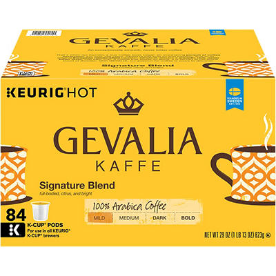 Gevalia Kaffe Colombia Medium Roast K-Cup Packs, 84 ct.