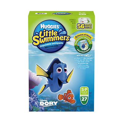Huggies Little Swimmers Disposable Diaper Swimpants, 23 ct. with Bonus