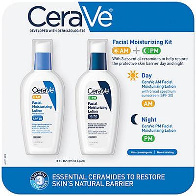 CeraVe Facial Moisturizing Kit, 2 pk./3 fl. oz.