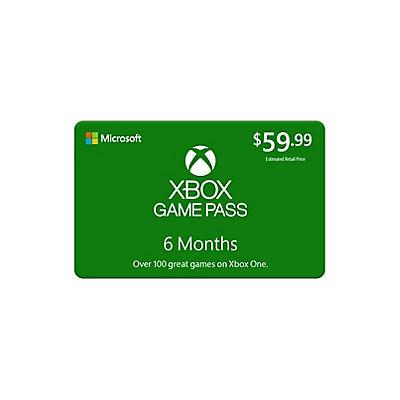 $59.99 Xbox Game Pass