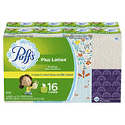 Puffs Plus Lotion Two-Ply Facial Tissues, 16 pk./56 ct.