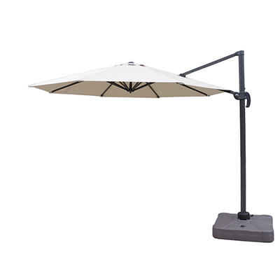 Berkley Jensen 11' Offset Umbrella with Stand