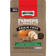 Milk-Bone Farmer's Medley Grain Free With Turkey & Pumpkin Dog Treats, 42 oz.