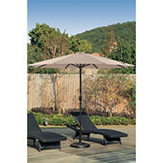 Berkley Jensen 11' Aluminum Umbrella - Sand