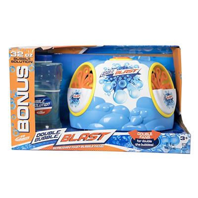 Kid Galaxy Double Bubble Blast with Bonus 32 oz. Bubble Solution
