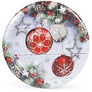 "Artstyle Shimmer and Frost 10.25"" Plates, 40 ct."