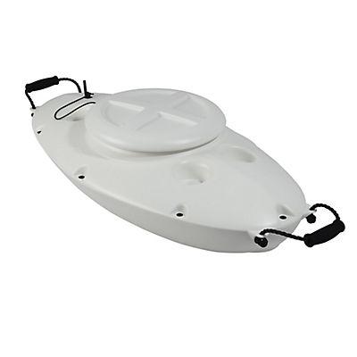 CreekKooler 30-Qt. Floating Cooler - White