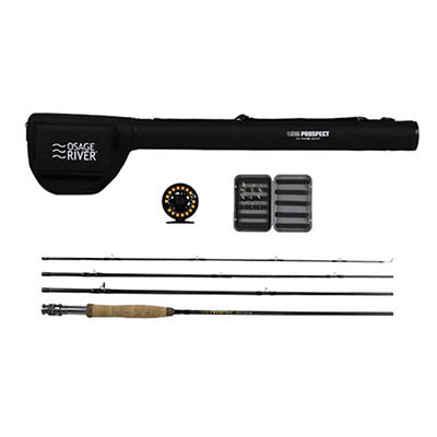 Osage River Prospect 5/6 Fly Reel 9' Fly Fishing Package
