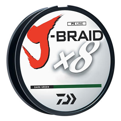 Daiwa J-Braid x8 3,000 Meter 40-Lb. Spool