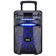 "QFX 12"" Rechargeable Bluetooth Party Speaker with Speaker Pro App Control"