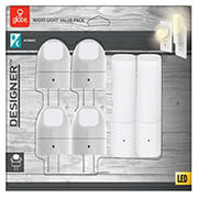 Globe Electric Automatic Dusk to Dawn Directional and Cylinder LED Night Light Set