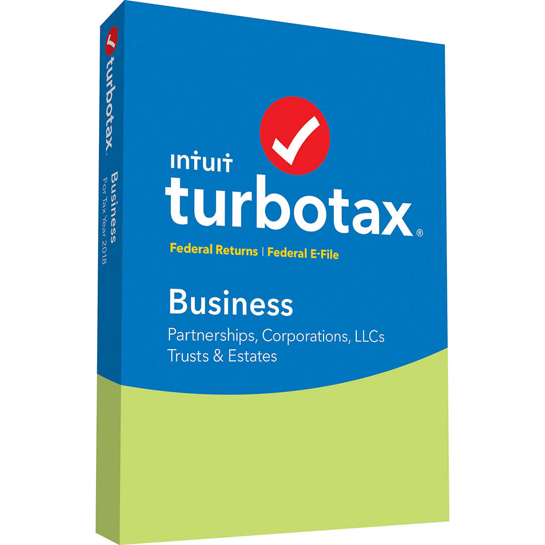 Turbo Tax Home And Business 2020.Turbotax Business Federal Returns And Federal E File 2018