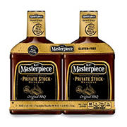 KC Masterpiece Private Stock Original Barbecue Sauce, 2 pk./45 oz.