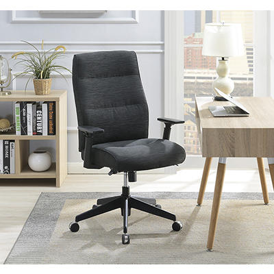 La-Z-Boy Commercial Fabric Chair - Dark Gray
