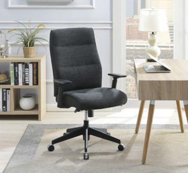 La Z Boy Commercial Fabric Chair Dark Gray Bjs Wholesale Club