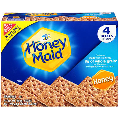 Nabisco Honey Maid Grahams, 4 pk./14.4 oz.