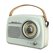 Art + Sound Vintage Bluetooth FM Radio Speaker