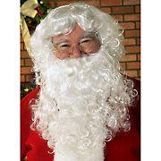 Economy Adult Santa Beard & Wig Set