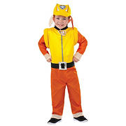 Paw Patrol: Rubble Toddler Costume - 2T-4T