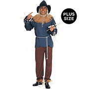 The Wizard of Oz Scarecrow Plus Adult Costume - 50""
