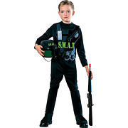 S.W.A.T. Team Child Costume - Medium