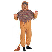 The Wizard of Oz Cowardly Lion Plus Costume - 46""